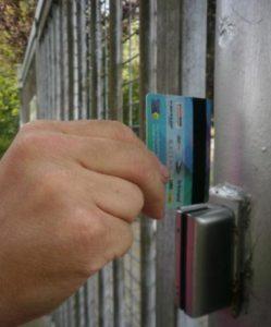 Elektronisch toegangshek